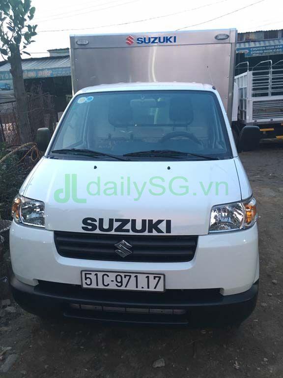 Xe tải Suzuki Carry Pro thùng kín Inox 750kg