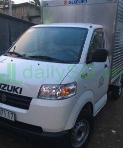 Phía trước Xe tải Suzuki Carry Pro thùng kín Inox 750kg
