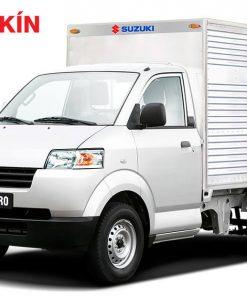 Xe tải Suzuki Carry Pro thùng kín Inox 750kg Suzuki Pro TK