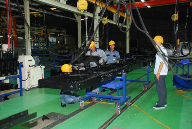 Giới thiệu dây chuyền sản xuất nhà máy ô tô Hyundai Đô Thành