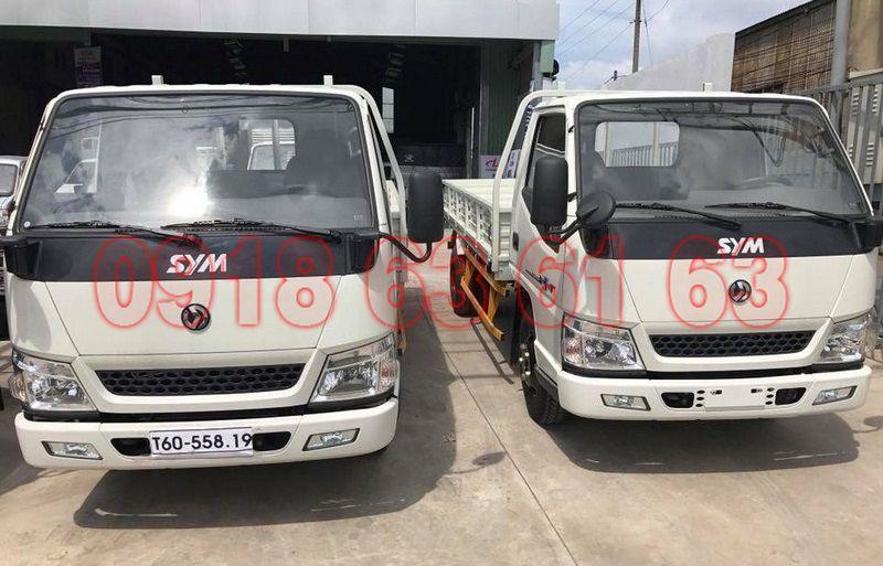 Hình ảnh xe tải SYM 2T