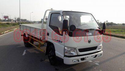 Xe tải SYM 2T thùng mui bạt, thùng lửng