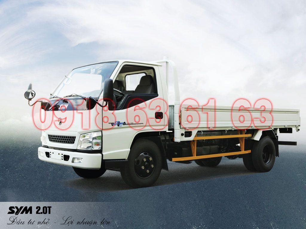 Banner xe tải SYM 2T