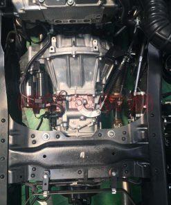 Hộp số MYY5T 5 số tiến 1 số lùi của động cơ 4JJ1E4NC xe tải Isuzu 1T9 nhập đầu vuông NMR NMR85HE4 NMR310