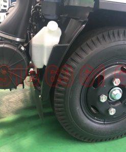 Lọc gió bô e và bánh xe trước xe tải Isuzu 1T9 nhập đầu vuông NMR NMR85HE4 NMR310