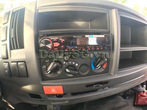 Trung tâm điều khiển và hệ thống điều hòa radio fm cd dvd Xe tải Isuzu 8 tấn FVR Euro 4 FVR 900 thùng dài xe chính hãng Isuzu Vietnam