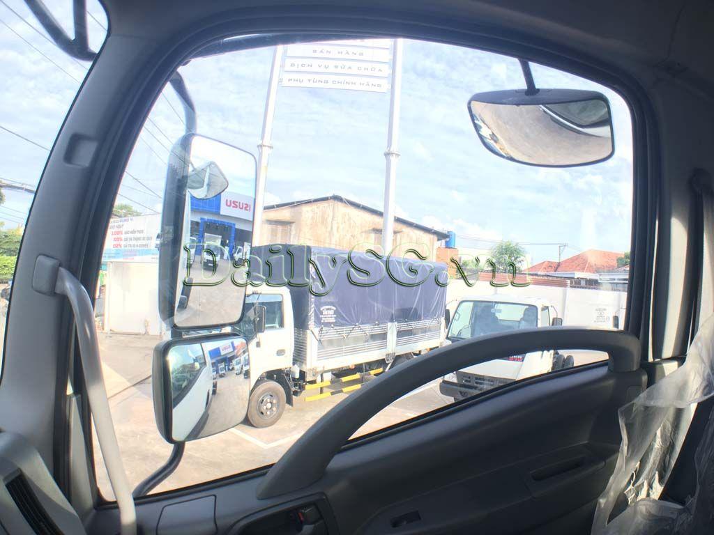 Kính hậu bên phụ Xe tải Isuzu 8 tấn FVR Euro 4 FVR 900 thùng dài xe chính hãng Isuzu Vietnam