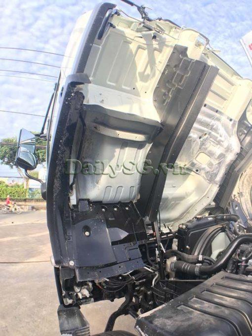 Cabin lật của Xe tải Isuzu 8 tấn FVR Euro 4 FVR 900 thùng dài xe chính hãng Isuzu Vietnam