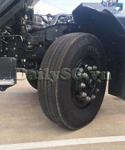 Góc đánh lái lớn bánh trước Xe tải Isuzu 8 tấn FVR Euro 4 FVR 900 thùng dài xe chính hãng Isuzu Vietnam