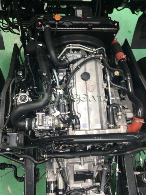 Nắp máy, nắp động cơ Xe tải Isuzu FRR Euro 4 6t2 thùng kín inox nhà máy dài 6m6