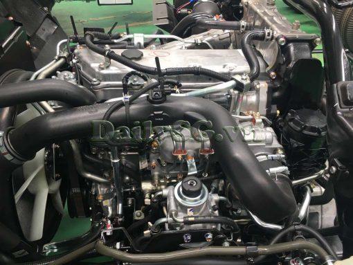 Hệ thống phun dầu điện tử common rail Xe tải Isuzu FRR Euro 4 6t2 thùng kín inox nhà máy dài 6m6