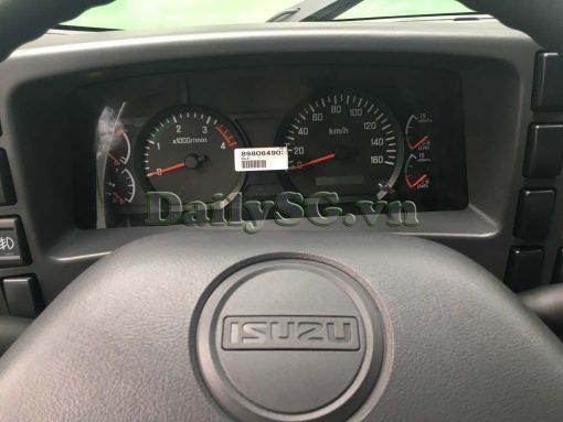 Đồng hồ taplo Xe tải Isuzu FRR Euro 4 6t2 thùng kín inox nhà máy dài 6m6